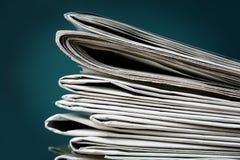 stack gazety zdjęcie royalty free