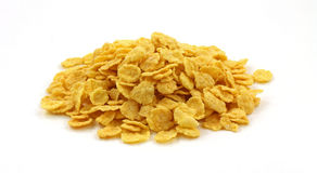 Stack of Generic Corn Flakes Stock Images