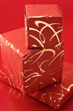 Stack of gifts Stock Image