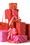 Stack of gifts Royalty Free Stock Photos