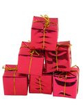 Stack of gifts royalty free stock image