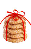 Stack of gingerbread cookies Stock Photography