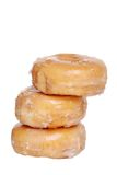 Stack Of Glazed Donuts Royalty Free Stock Photos