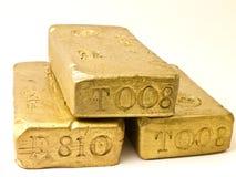 Stack of Gold Bricks Royalty Free Stock Image