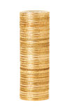A stack of gold coins Stock Images