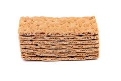 Stack of grain crisp bread Stock Photos