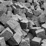 stack of granite pavement Royalty Free Stock Photography