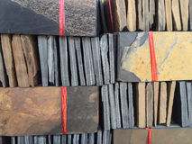 Stack of granite texture Stock Image