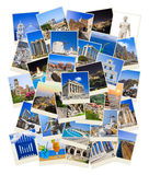 Stack of Greece travel photos Stock Images