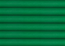 Stack of green fabrics Stock Photography