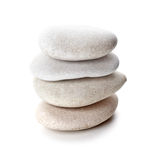 Stack of grey stones Royalty Free Stock Photography