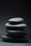 Stack of grey stones Royalty Free Stock Images