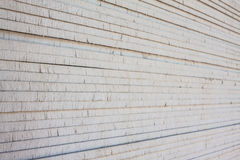 The stack of gypsum. Board preparing for construction royalty free stock photos