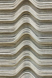 The stack of gypsum board preparing for construction, background Royalty Free Stock Photo