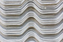 The stack of gypsum board preparing for construction, background Royalty Free Stock Images