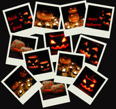 Stack of Halloween photo shots Stock Photos