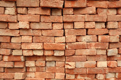 Stack of Hand Made Bricks stock images