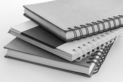Stack of hard cover note book Royalty Free Stock Image