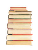 Stack of hardcover books Stock Photos