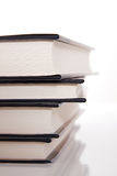 Stack of hardcover books Royalty Free Stock Photography