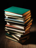 Stack of hardcover books Royalty Free Stock Images