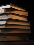 Stack of hardcover books Stock Images