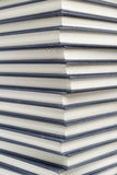 Stack of hardcover books closeup Stock Photography