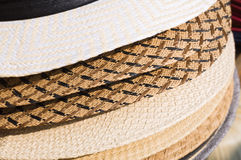 Stack of hat Stock Photography