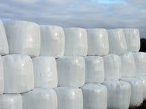 Stack hay balls Stock Photos