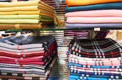 Stack of headscarfs Stock Images