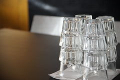 Stack of highballs Royalty Free Stock Photo