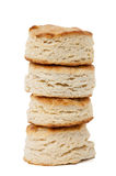 Stack of homemade biscuits Stock Photography