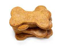 Stack of Homemade Dog Biscuits Stock Photos