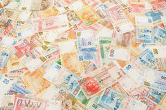 Stack of Hong Kong dollar Royalty Free Stock Photography