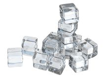 Stack of Ice Stock Image