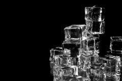 Stack of ice cubes Stock Photography