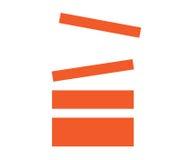 Stack Icon Design Royalty Free Stock Photo