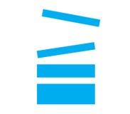 Stack Icon Design Stock Photo