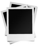 Stack of instant photos. A stack of instant photos as  templates Royalty Free Stock Photos