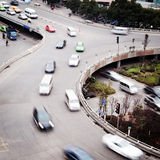 The Stack Interchange. Aerial view of the Stack Interchange royalty free stock photography