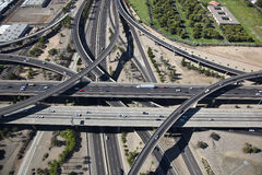 Stack Interchange Royalty Free Stock Images