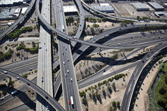 Stack Interchange Royalty Free Stock Photography