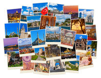 Stack of Istanbul Turkey travel images Stock Photos