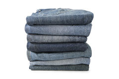 Stack jeans Stock Photos