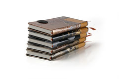 Stack of Journals Royalty Free Stock Photos