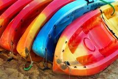 Stack of Kayaks Royalty Free Stock Photo