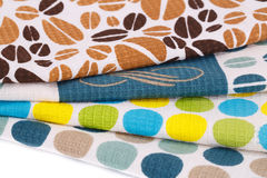 Stack of kitchen towels Stock Photo