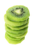 Stack of Kiwi Fruit Slices Stock Image