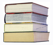 Stack of large books Stock Images