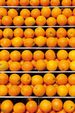 Stack of large number of oranges,full frame Stock Image